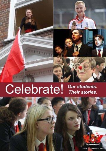 'Celebrate!' Issue 37