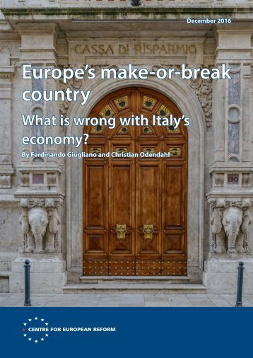 Europe's make-or-break country