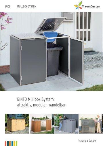 Traumgarten Müllbox System 2018
