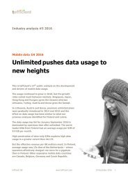 Unlimited pushes data usage to new heights