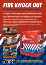 FIRE PREVENTION PRODUCT - FKO Fire Knock Out