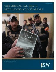 THE VIRTUAL CALIPHATE ISIS'S INFORMATION WARFARE