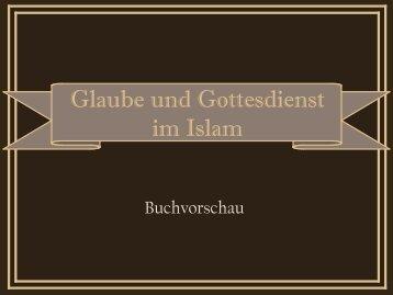 Buchvorschau Glaube und Gottesdienst im Islam