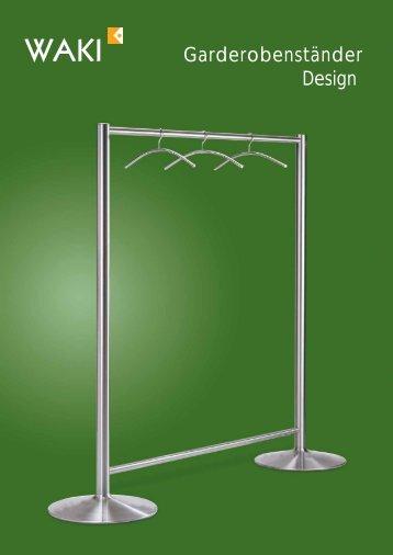 Garderobenständer Design - Waki Killmer GmbH
