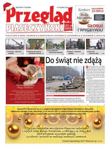 Przegląd Piaseczyński, Wydanie 131
