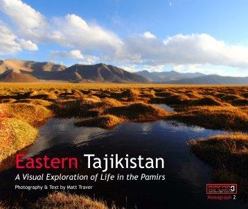 RAJ Monograph 2 Eastern Tajikistan by Matt Traver