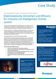Anwenderbericht Fujitsu Technology Solution GmbH - Warmbier