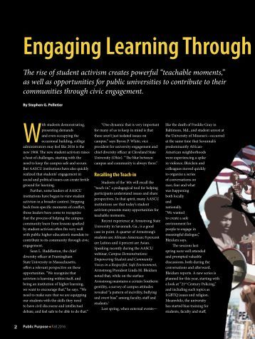 Engaging Learning Through