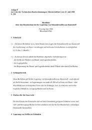 Richtlinie über den Brandschutz bei der Lagerung von ...