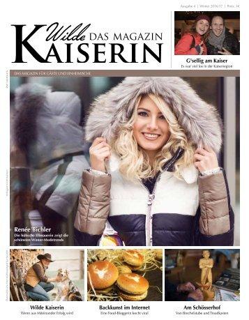 Wilde Kaiserin Das Magazin Winter 2016/17