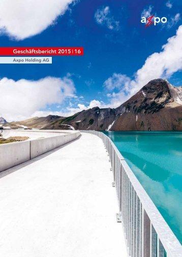 Geschäftsbericht 2015 16
