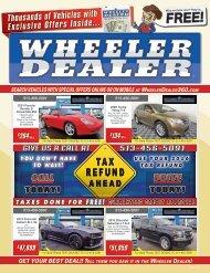 Wheeler Dealer Issue 52, 2016
