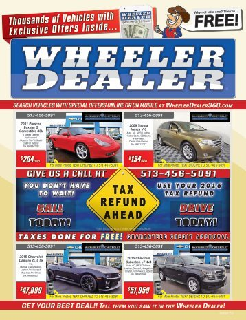 Wheeler Dealer Issue 52, 2016