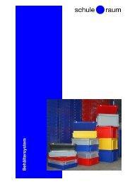 Behältersystem S&R - AG für Schule & Raum