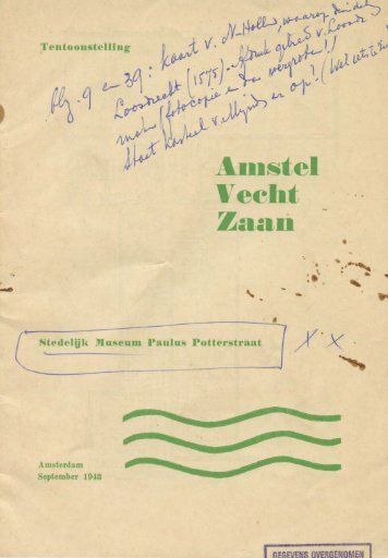 Amstel Vecht Zaan