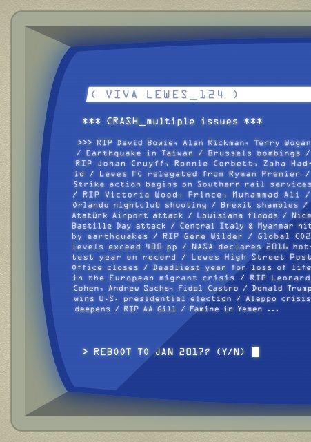 Viva Lewes Issue #124 January 2017