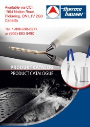 thermohauser general catalog 2013