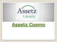 Assetz Cosmo