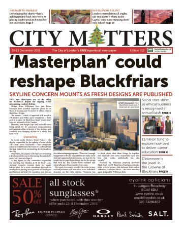 City Matters Edition 012