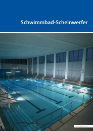 Schwimmbad-Scheinwerfer