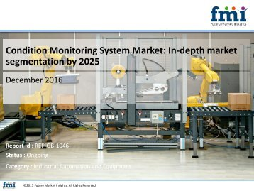 Condition Monitoring System Market