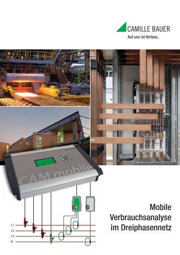 Werbeblatt CAM mobile - Camille Bauer AG