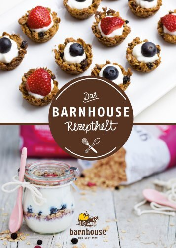 Das Barnhouse Rezeptheft