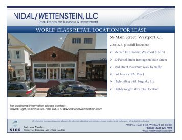 WORLD CLASS RETAIL LOCATION FOR LEASE