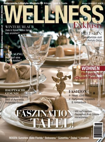 WELLNESS Magazin Exklusiv - Winter 2016