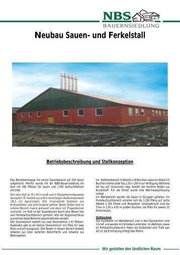 und Ferkelstall - Norddeutsche Bauernsiedlung GmbH