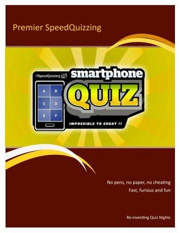 Premier SpeedQuizzing