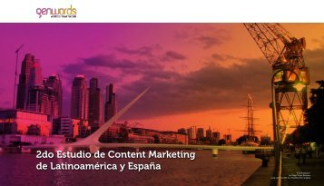2do Estudio de Content Marketing de Latinoamérica y España