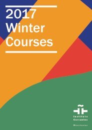2017 Winter Courses