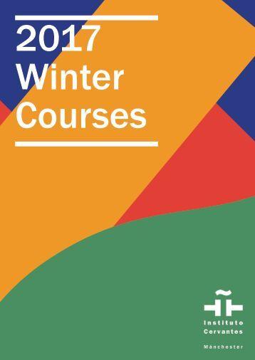 2017 Winter Courses