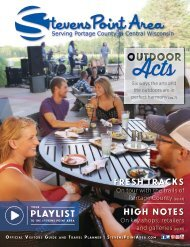 Stevens Point Area Visitor Guide - 2017