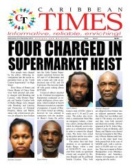 Caribbean Times 61st Issue - Wednesday 21st December 2016