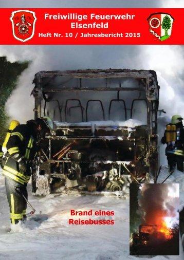 Freiwillige Feuerwehr Elsenfeld Jahresbericht 2015