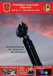 Freiwillige Feuerwehr Elsenfeld Jahresbericht 2014