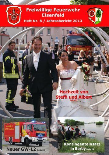 Freiwillige Feuerwehr Elsenfeld Jahresbericht 2013