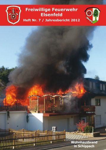 Freiwillige Feuerwehr Elsenfeld Jahresbericht 2012