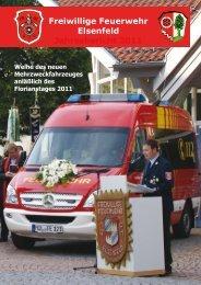 Freiwillige Feuerwehr Elsenfeld Jahresbericht 2011