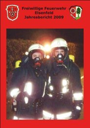 Freiwillige Feuerwehr Elsenfeld Jahresbericht 2009