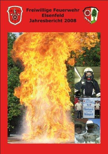 Freiwillige Feuerwehr Elsenfeld Jahresbericht 2008