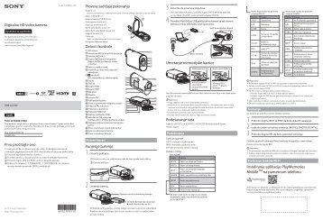 Sony HDR-AS100VB - HDR-AS100VB  Serbo