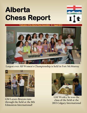 Alberta Chess Report