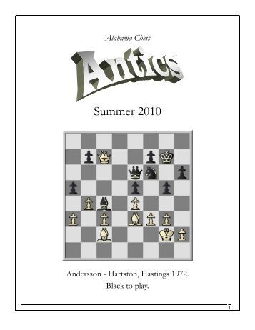 Alabama Chess Antics