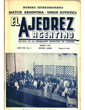 El Ajedrez Argentino
