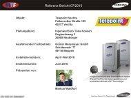 Referenz-Bericht 07/2010 - MTF GmbH