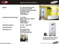 Referenz-Bericht 05/2010 - MTF GmbH