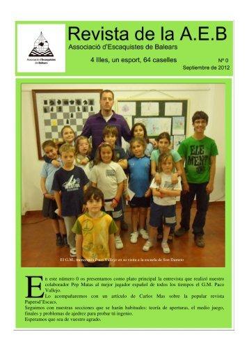 Revista de la A.E.B.
